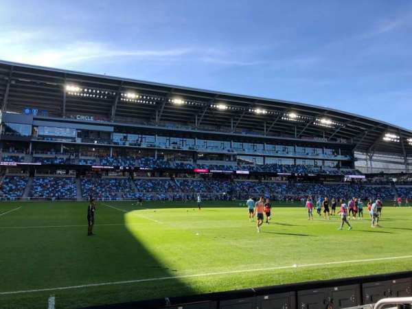 Allianz Field, section: 17, row: 4, seat: 4