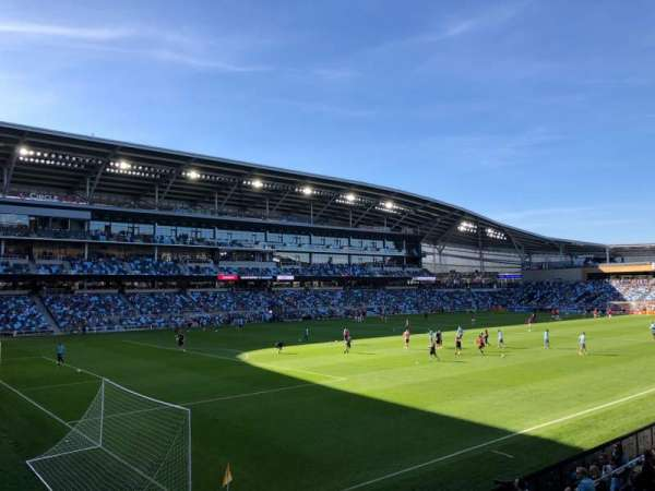 Allianz Field, section: 18, row: 6, seat: 11