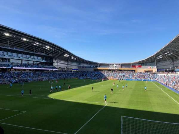 Allianz Field, section: 20, row: 9, seat: 10