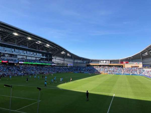 Allianz Field, section: 21, row: 8, seat: 1