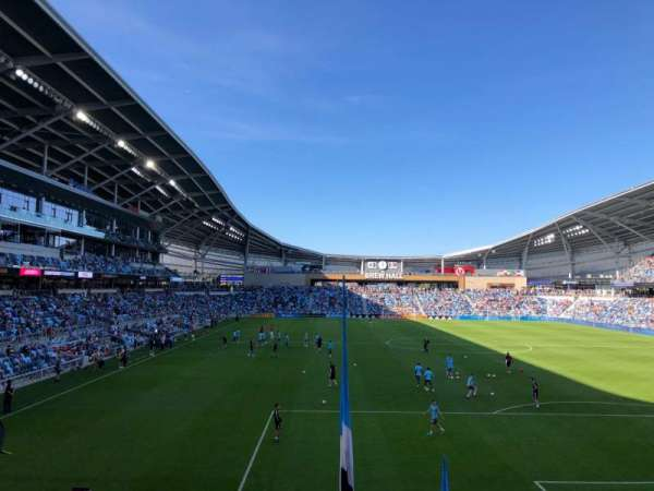 Allianz Field, section: 23, row: 11, seat: 1
