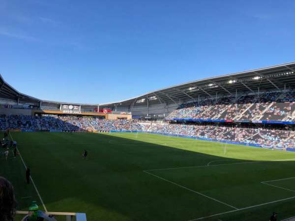 Allianz Field, section: 25, row: 10, seat: 26