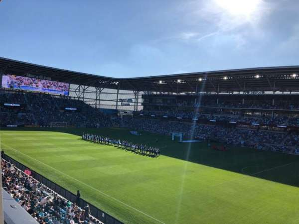Allianz Field, section: 108, row: 1, seat: 1