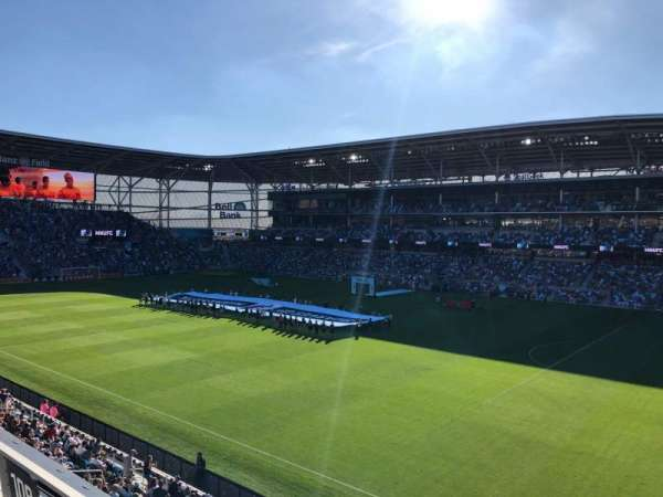 Allianz Field, section: 109, row: 3, seat: 3
