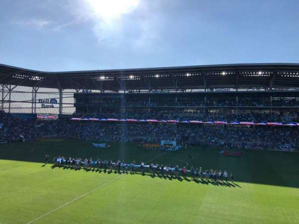 Allianz Field, section: 111, row: 2, seat: 21