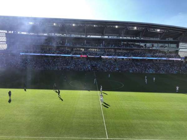 Allianz Field, section: 113, row: 1, seat: 14