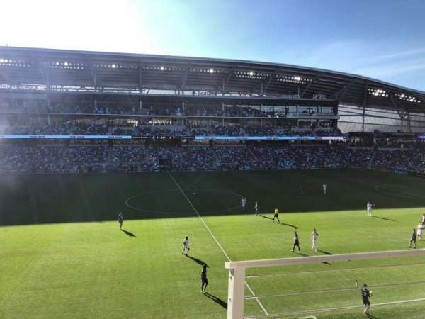 Allianz Field, section: 114, row: 2, seat: 3