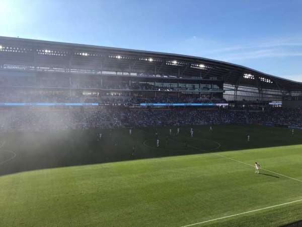 Allianz Field, section: 115, row: 1, seat: 14