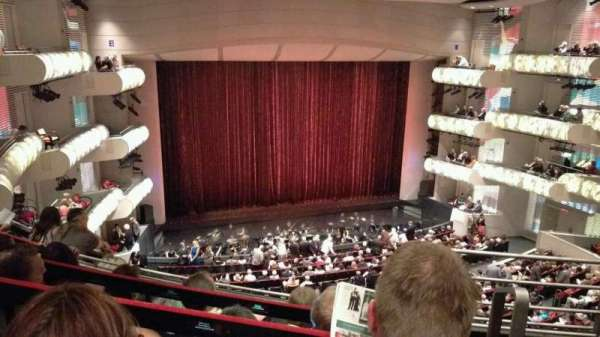 Kauffman Center for Performing Arts, section: Grand Tier Left, row: EEE, seat: 916