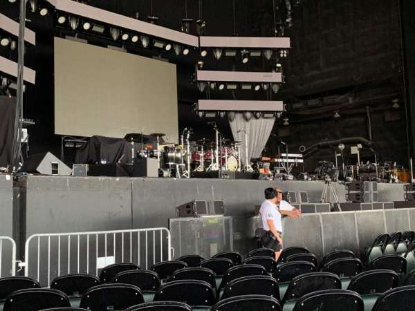 Dos Equis Pavilion, section: 102, row: F, seat: 9