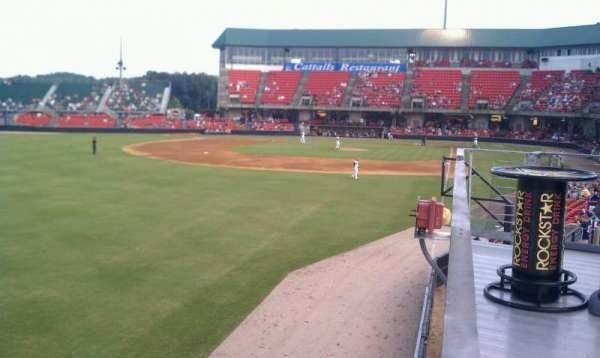 Five County Stadium, section: GA
