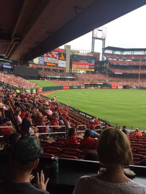 Busch Stadium, section: LFL, row: B, seat: 8