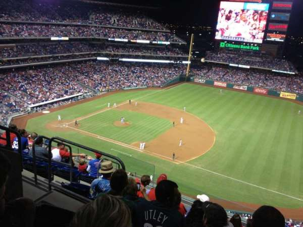 Citizens Bank Park, section: 412, row: 8, seat: 7