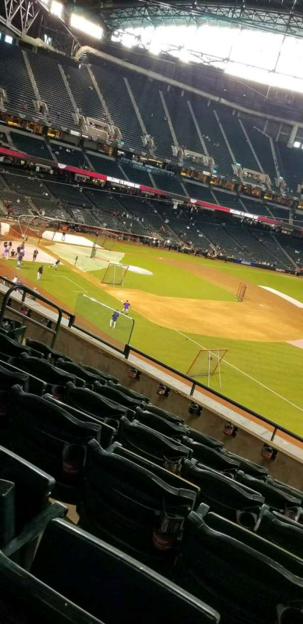 Chase Field, section: 203, row: 6, seat: 11