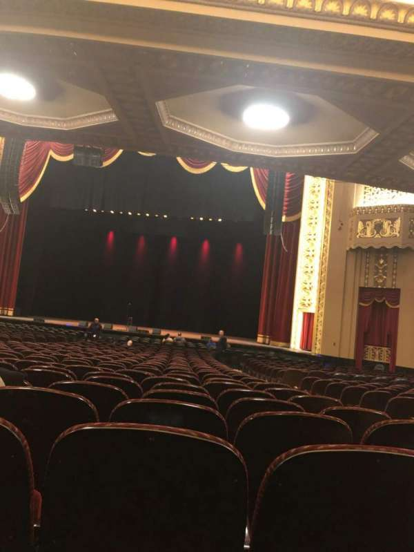 Stifel Theatre, section: Orchestra Right Center, row: BB, seat: 14