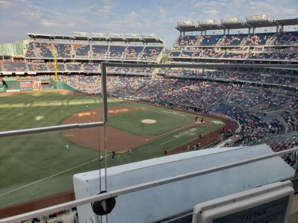 Nationals Park, section: 304, row: A, seat: 1