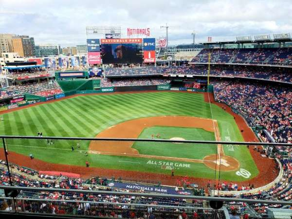 Nationals Park, section: 409, row: B, seat: 18