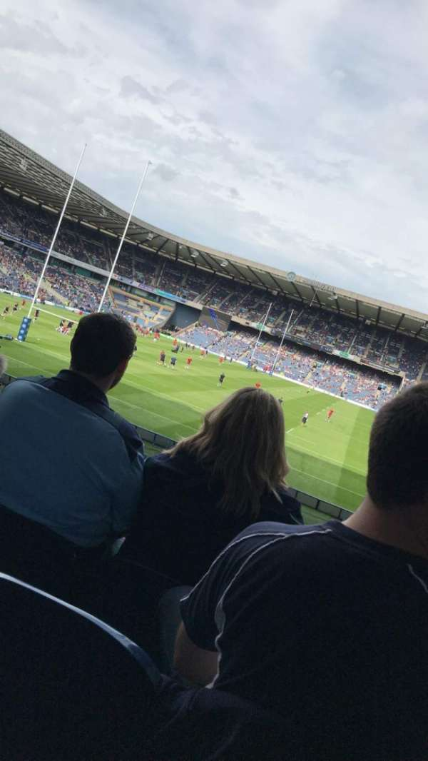Murrayfield Stadium, section: south, row: BB, seat: 6