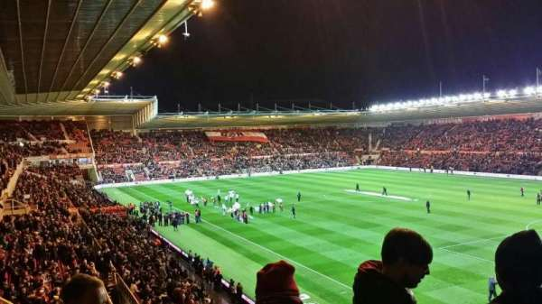 Riverside Stadium, section: 65, row: 27, seat: 38