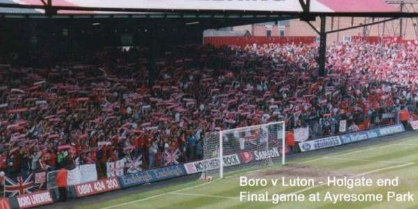 Ayresome Park, section: holgate