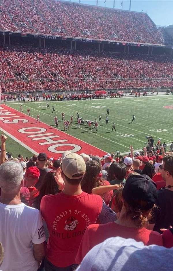 Ohio Stadium, section: 11A, row: 24, seat: 13