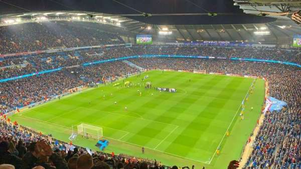 Etihad Stadium (Manchester), section: 313, row: Y, seat: 322
