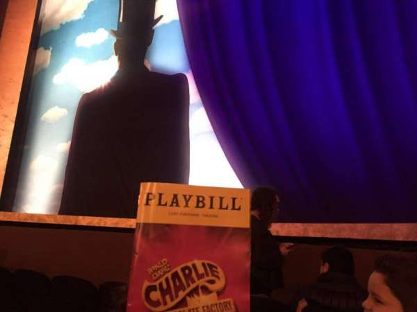 Lunt-Fontanne Theatre, section: Orchestra C, row: D, seat: 114