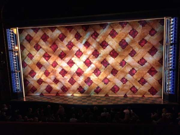 Brooks Atkinson Theatre, section: Front Mezzanine C, row: A, seat: 111