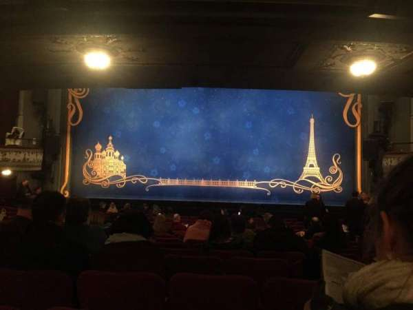 Broadhurst Theatre, section: Orchestra C, row: Q, seat: 112