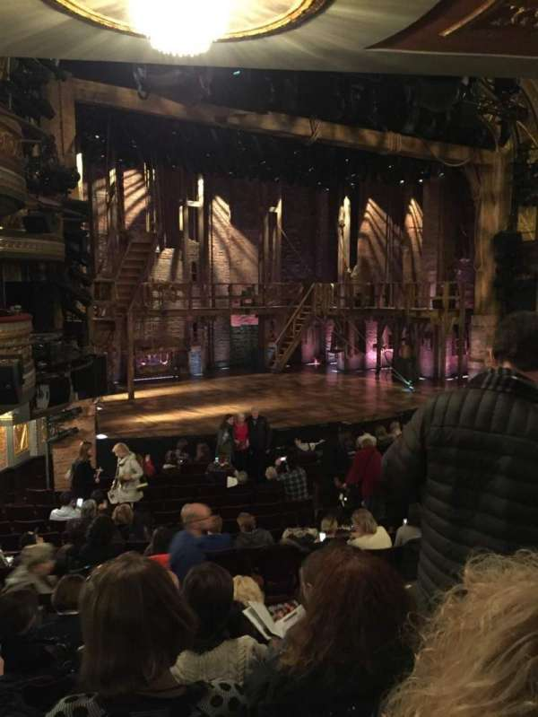 Richard Rodgers Theatre, section: Orchestra L, row: Q, seat: 25