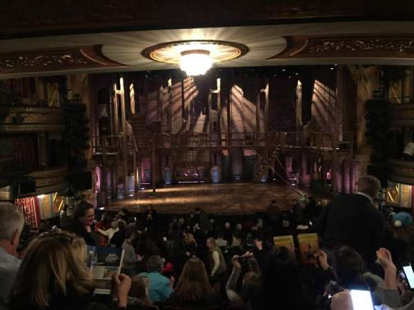 Richard Rodgers Theatre, section: Orchestra C, row: S, seat: 110