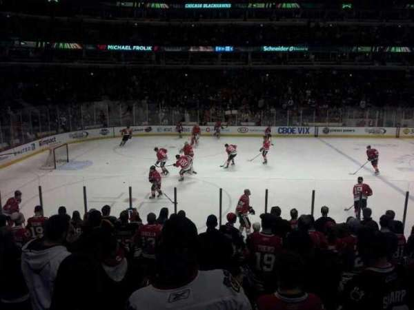 United Center, section: 102, row: 12, seat: 7 and 8