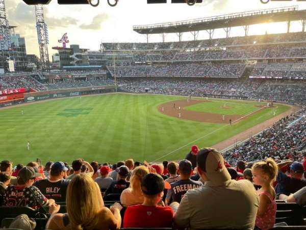 Truist park, section: 242, row: 19, seat: 21