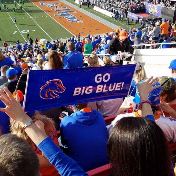 Sam Boyd Stadium, section: 105, row: 32, seat: 10