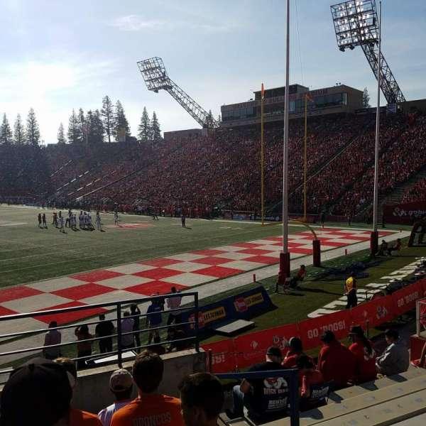 Bulldog Stadium, section: 25, row: 17, seat: 16