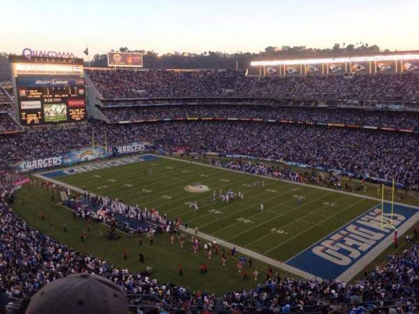 SDCCU Stadium, section: V14, row: 14, seat: 3