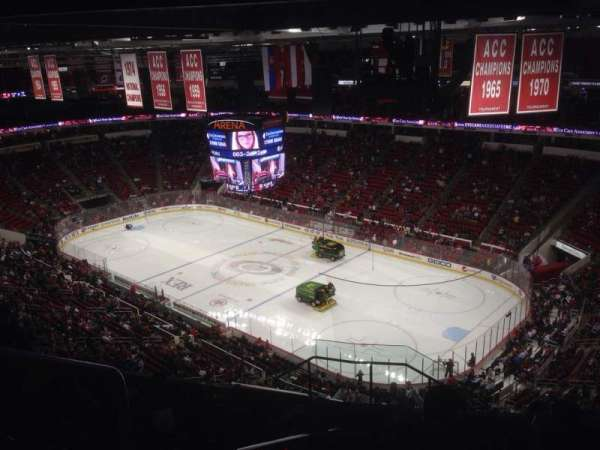 PNC Arena, section: 337, row: K, seat: 14