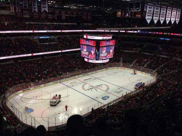 Capital One Arena, section: 430, row: K, seat: 7