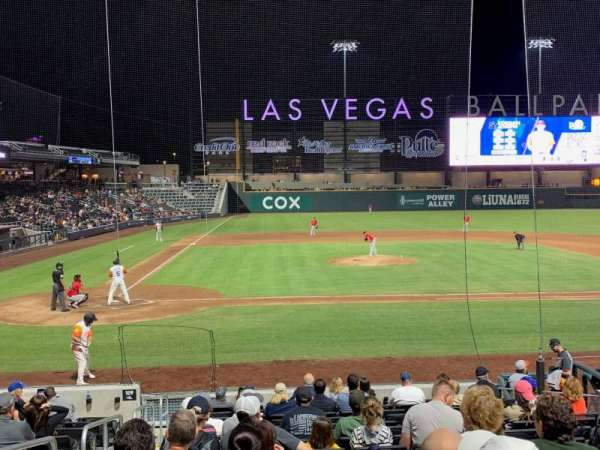 Las Vegas Ballpark, section: 108, row: Q, seat: 2