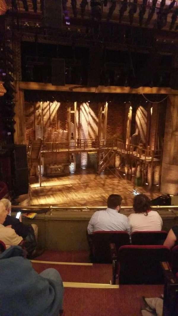 CIBC Theatre, section: Mezzanine L, row: E, seat: 1