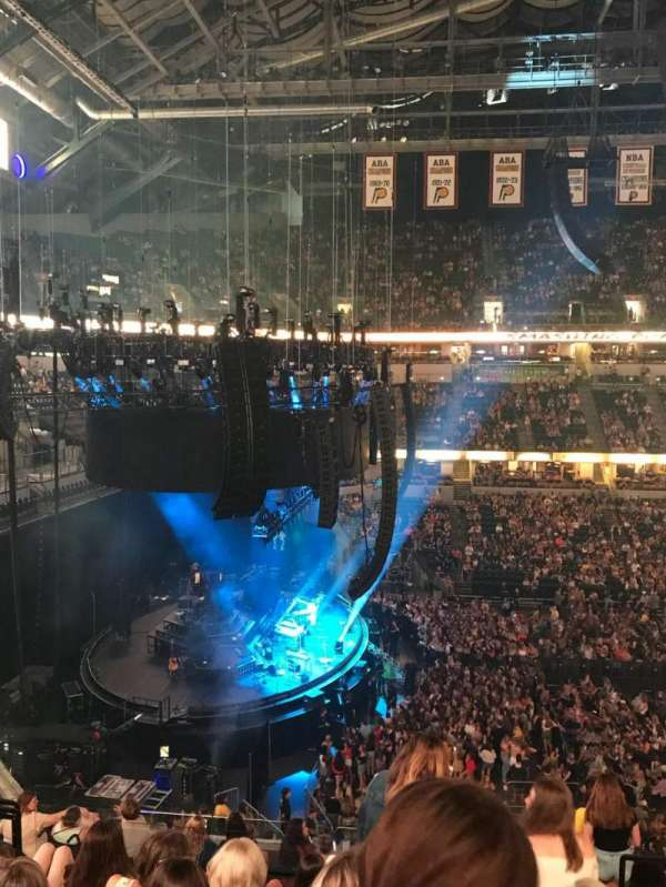 Bankers Life Fieldhouse, section: 119, row: 11, seat: 4