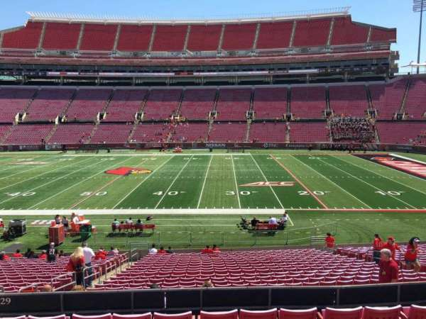 Cardinal Stadium, section: 229, row: G, seat: 17