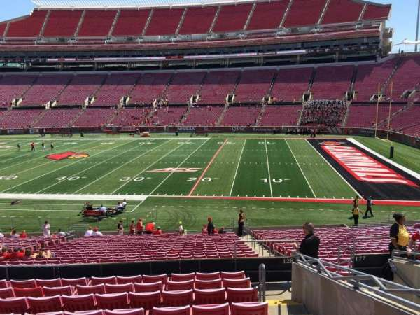 Cardinal Stadium, section: 228, row: L, seat: 105