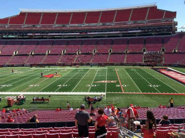 Cardinal Stadium, section: 229, row: M, seat: 3