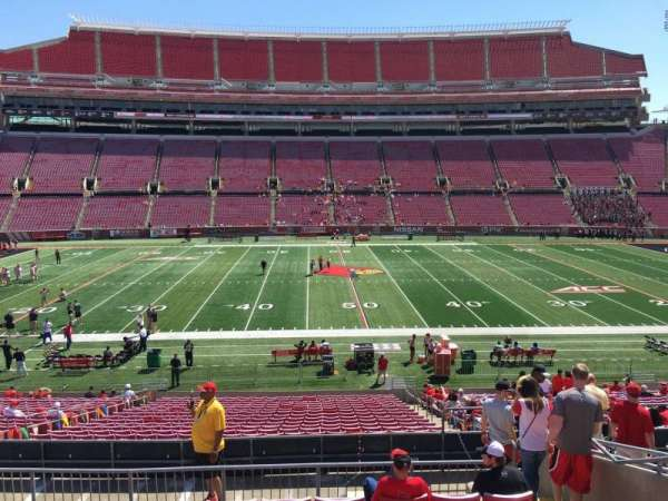 Cardinal Stadium, section: 231, row: M, seat: 7