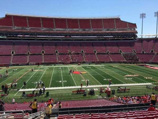 Cardinal Stadium, section: 231, row: S, seat: 19