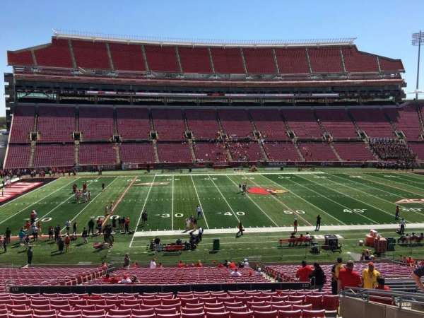 Cardinal Stadium, section: 232, row: S, seat: 109