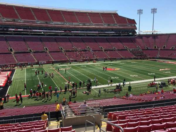 Papa John's Cardinal Stadium, section: 234, row: S, seat: 102