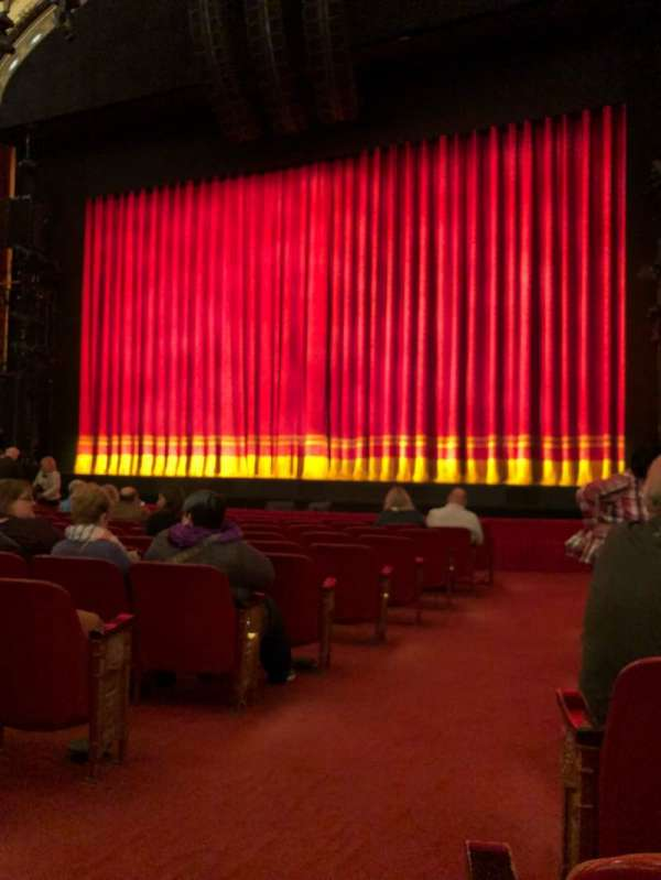 Cadillac Palace Theater, section: Orchestra, row: L, seat: 2