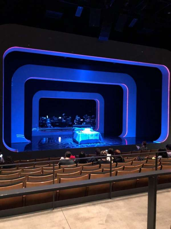 The Irene Diamond Stage at The Pershing Square Signature Center, section: Orchestra, row: H, seat: 103